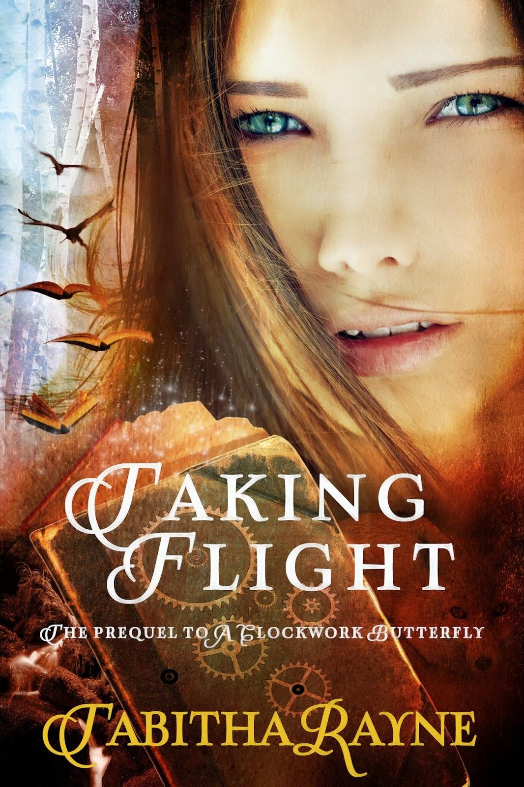 Cover Reveal! Taking Flight