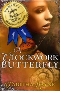 A Clockwork Butterfly Indie Summer Award nominee badge