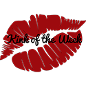 Red lips with Kink of the Week written on top - for Spray by Tabitha Rayne post
