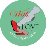 Tabitha Tayne home page logo - stockings and heels
