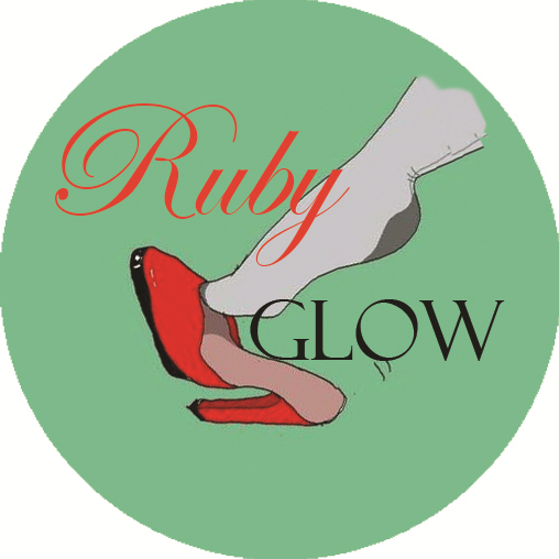 Ruby Glow home page logo button