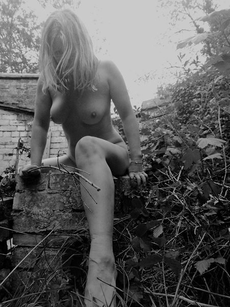 Truth Coming Out of Her Well -