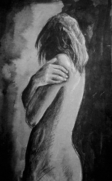 Discovery Tabitha Rayne nude painting black and white