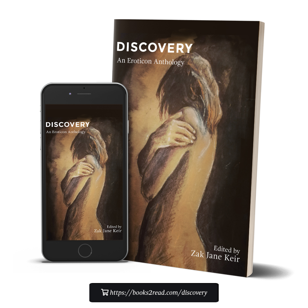 Eroticon anthology cover - Discovery