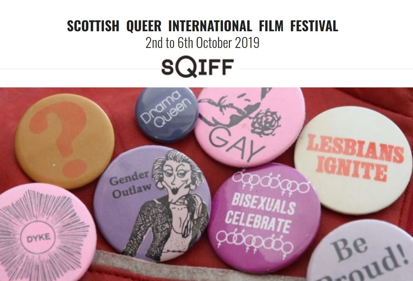 SQIFF - Scottish Queer Film Festival and Accessibility Event