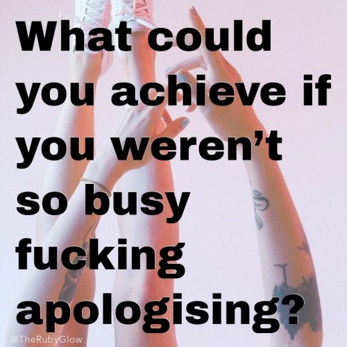 What Are You Sorry For?