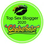 green circle logo with lips and Top Sex Blogger 202
